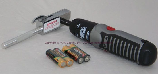 Electric Ring Cutter with Batteries